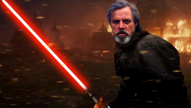star wars luke skywalker lato oscuro
