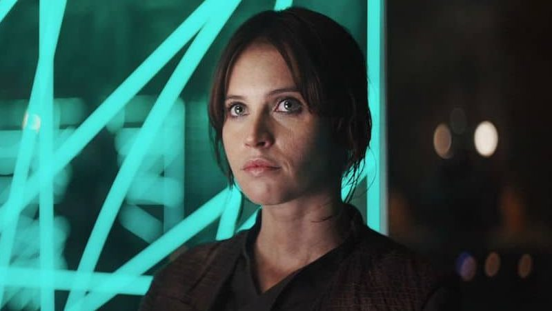 Rebel Rising star wars rogue one jyn erso felicity Jones
