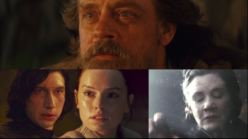 star wars the last jedi connessioni con la forza