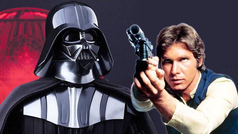 star wars han solo darth vader miglior pilota galassia