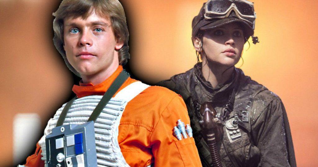 """Star Wars: Luke scelse """"Rogue Squadron"""" per omaggiare Jyn Erso e Rogue One"""