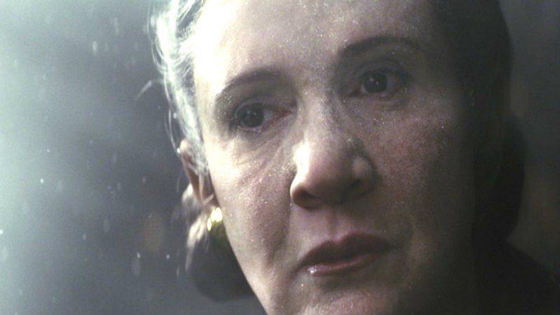la nasa Leia nello spazio star wars episodio 8 gli ultimi jedi vola