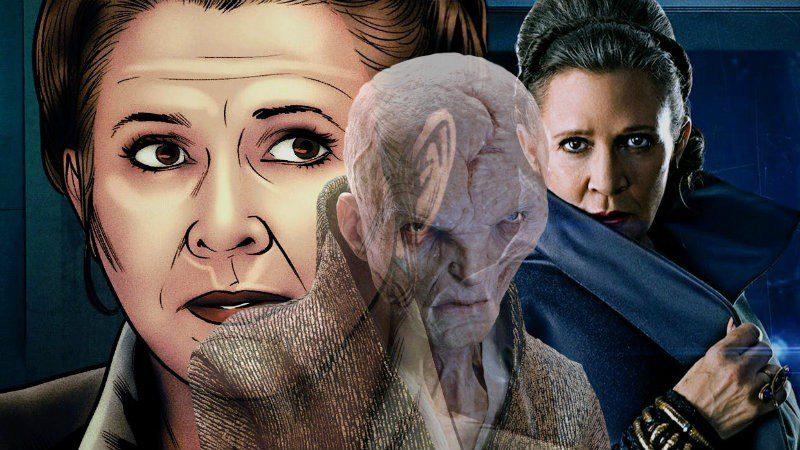 Star Wars Leia Resistenza Poe Dameron