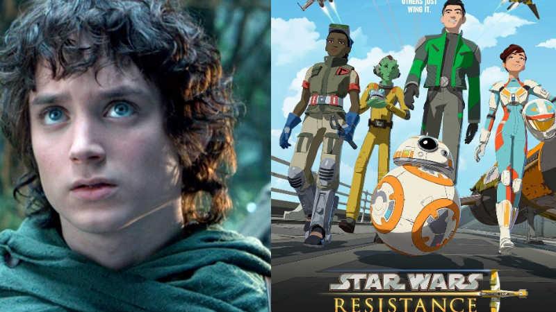 Star Wars Resistance: un video svela il personaggio di Elijah Wood
