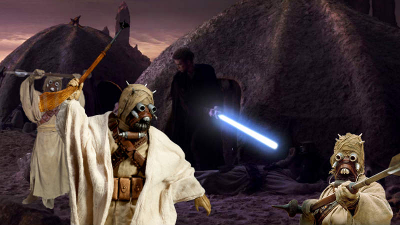 Star Wars tusken anakin star wars 37