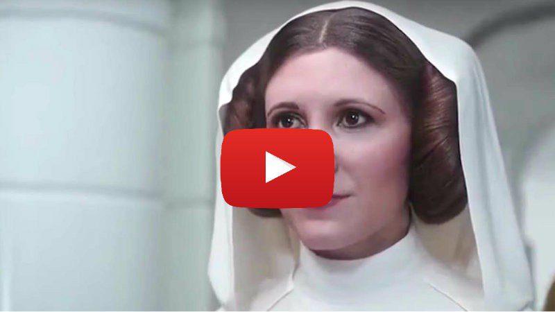 Star Wars Video: modificata Leia in CGI vista in Rogue One. Meglio così?