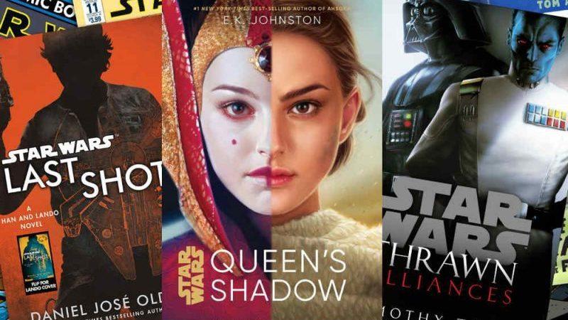 Star Wars: tutti i libri canonici inediti o annunciati in Italia