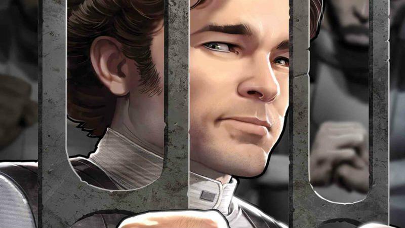 star wars han solo marvel han solo dicembre 2018 comics Star Wars Han Solo Imperial Cadet 1