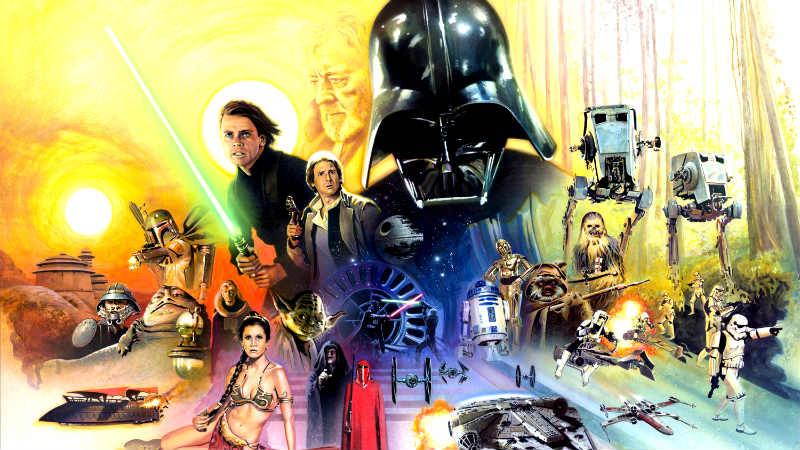 star wars saga migliori foto immagini
