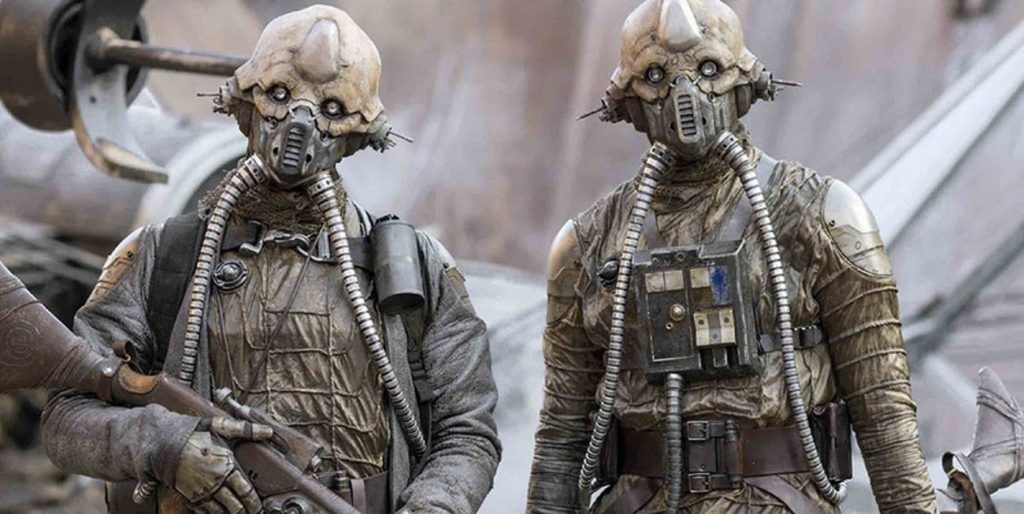 Star Wars: svelata l'identità del Tognath che collega Solo a Rogue One