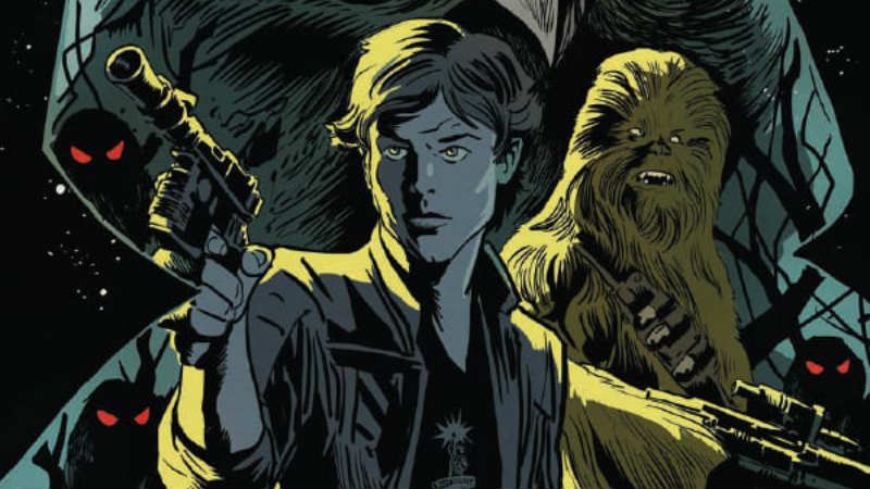 Tales from Vader's Castle 3: guarda le prime tavole della storia di Han Solo