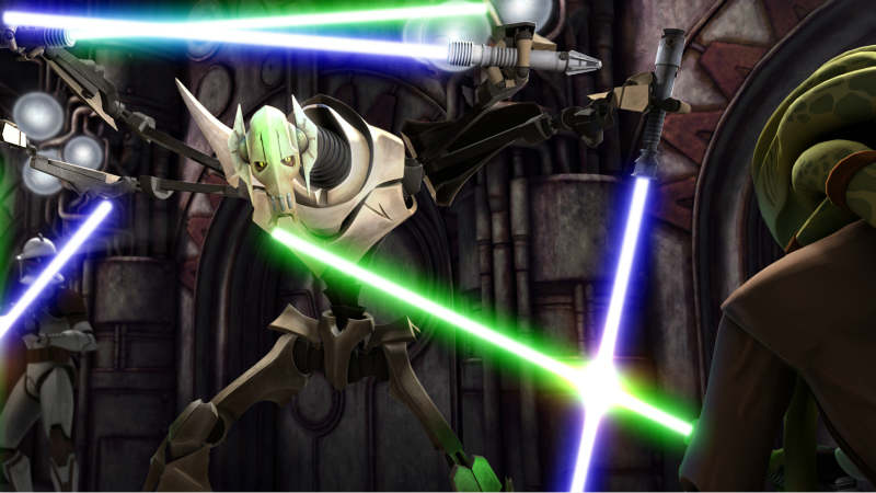 The Clone Wars Il covo di Grievous
