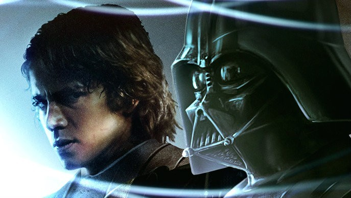 darth vader anakin skywalker star wars differenze