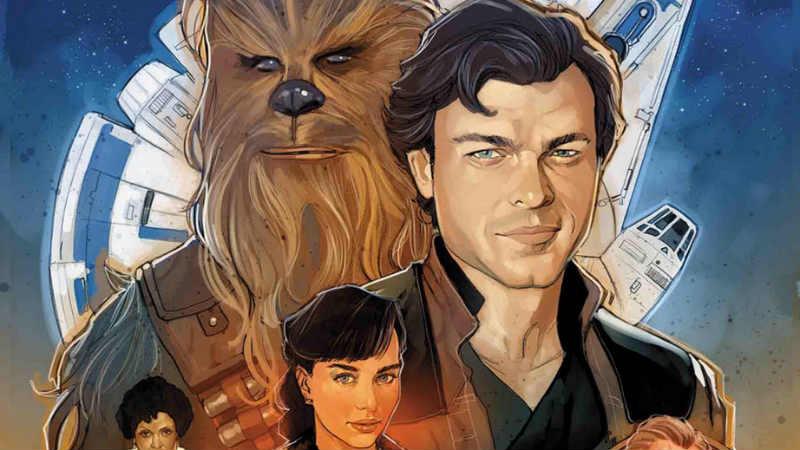 solo a star wars story marvel comics fumetto panini comics adattamento