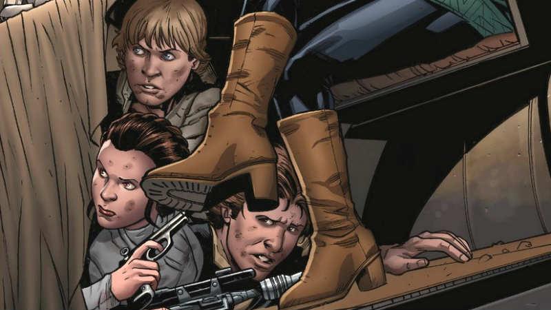 star wars 56 marvel comics andrea broccardo anteprima