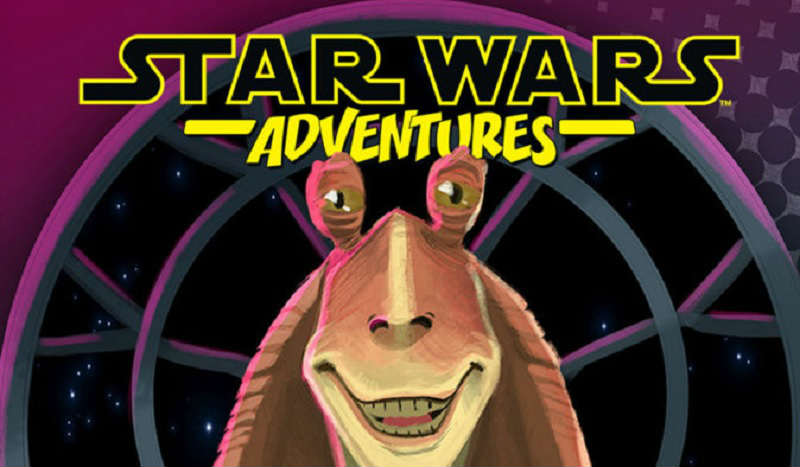 star wars adventures jar jar