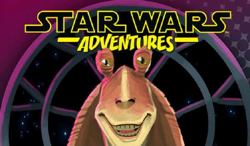 Star Wars Adventures: nuovi team-up dell'era Prequel. Arriva Jar Jar