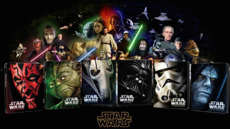 star wars episodio I II III IV V VI novellizzazioni libri romanzi canone