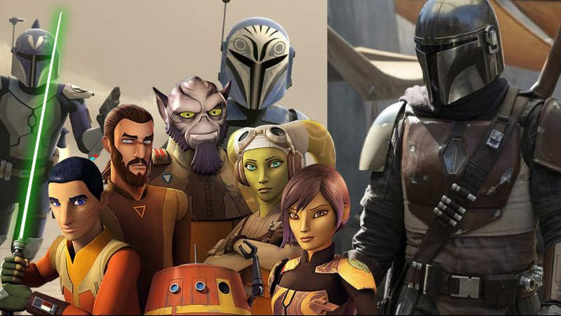 Star Wars The Mandalorian Rebels
