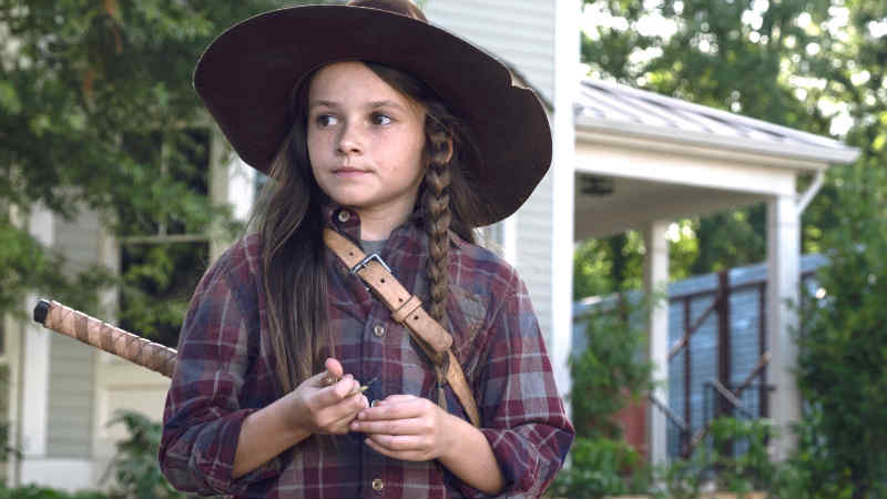 star wars Cailey Fleming Rey The Walking Dead Judith Grimes
