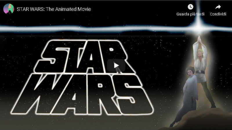 STAR WARS The Animated Movie by Jeronimus Dekker (VIDEO)