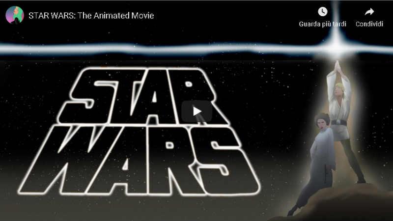 STAR WARS The Animated Movie by Jeronimus Dekker (VIDEO)
