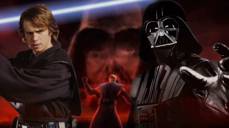 Star Wars Anakin Skywalker Lato Oscuro Darth Vader