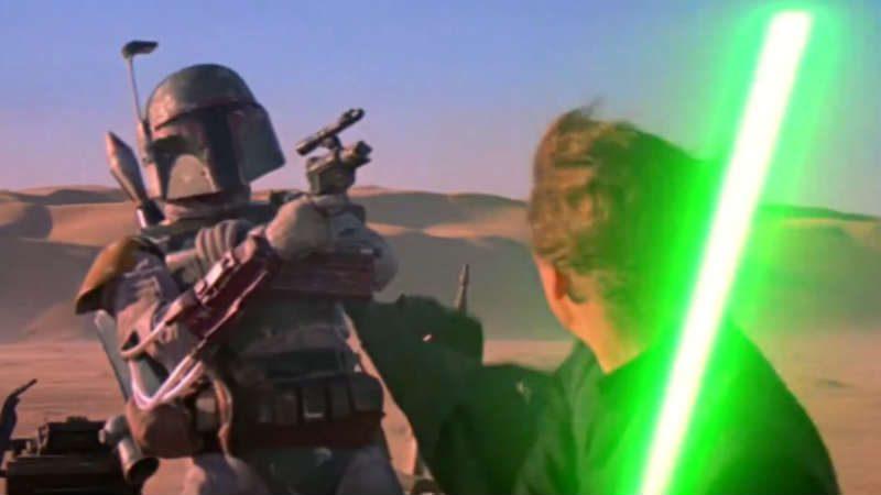 Star Wars Boba Fett madre mamma luke skywalker