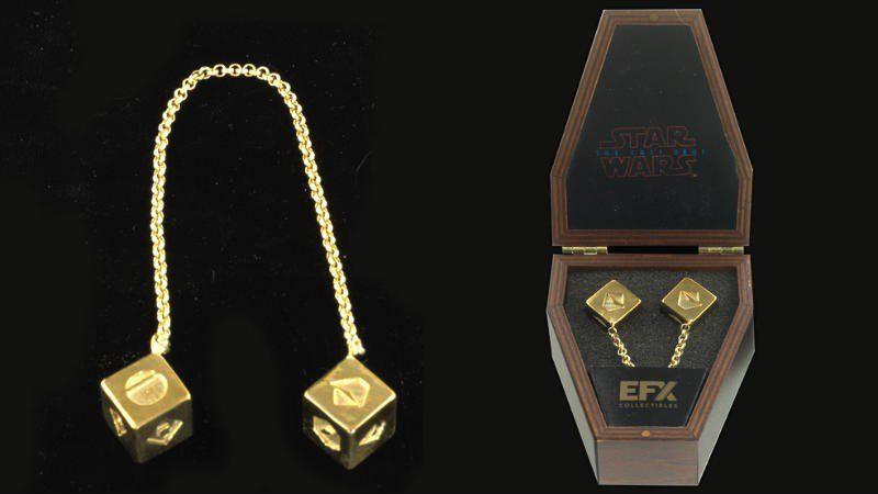 Star Wars: la replica ufficiale dei dadi di Han Solo in vendita con EFX