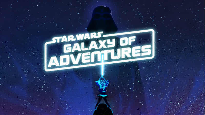 Star Wars Galaxy of Adventures video trailer website sito web youtbe kids