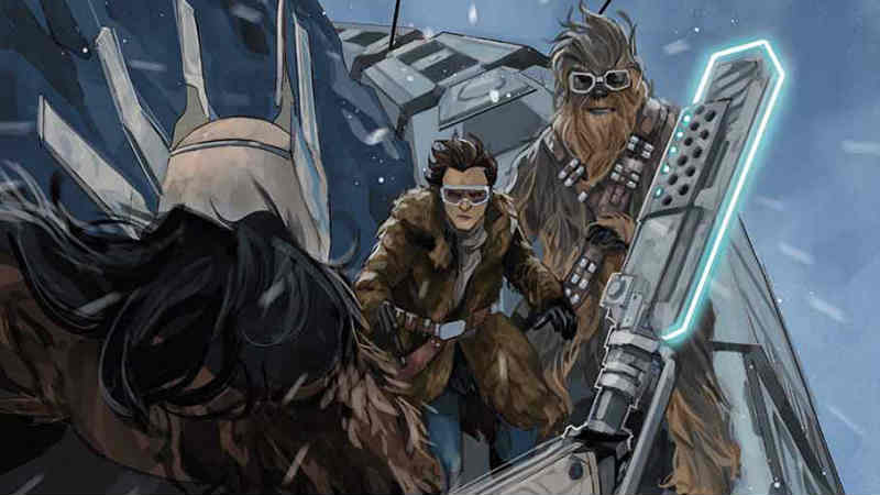 Star Wars Solo Adaptation 2 - Le tavole in anteprima by Marvel Comics