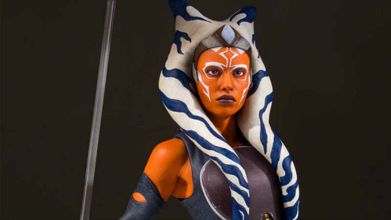 star wars rebels ahsoka tano gentle giant statua busto action figure