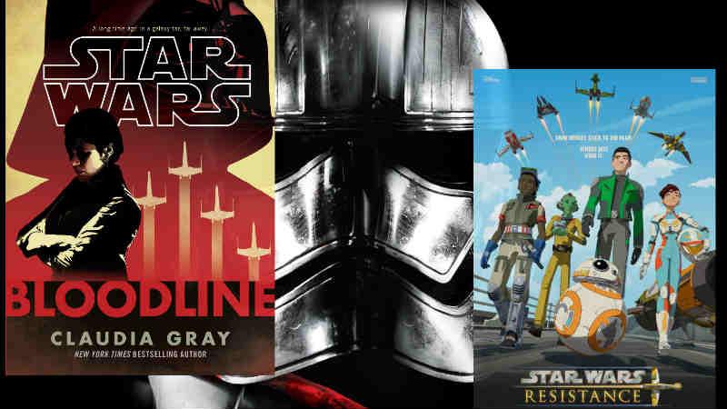 Star Wars: svelato un collegamento tra Bloodline, Resistance, Phasma