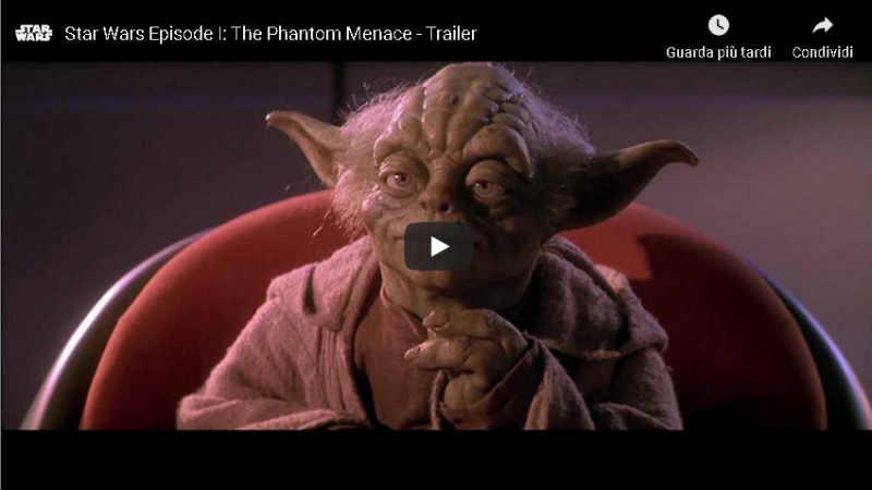 Star Wars Episodio I - La Minaccia Fantasma: riguarda lo storico trailer