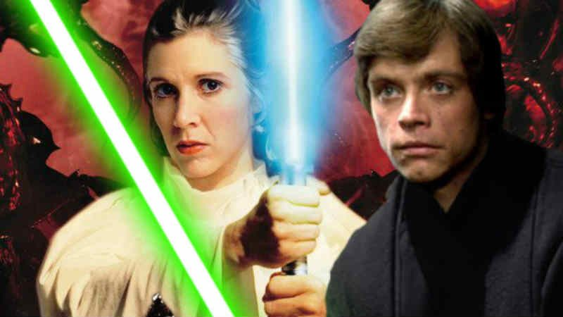 Star Wars gli ultimi jedi la forza leia organa luke skywalker lezioni