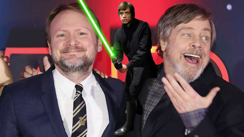 star wars rian johnson luke skywalker mark hamill