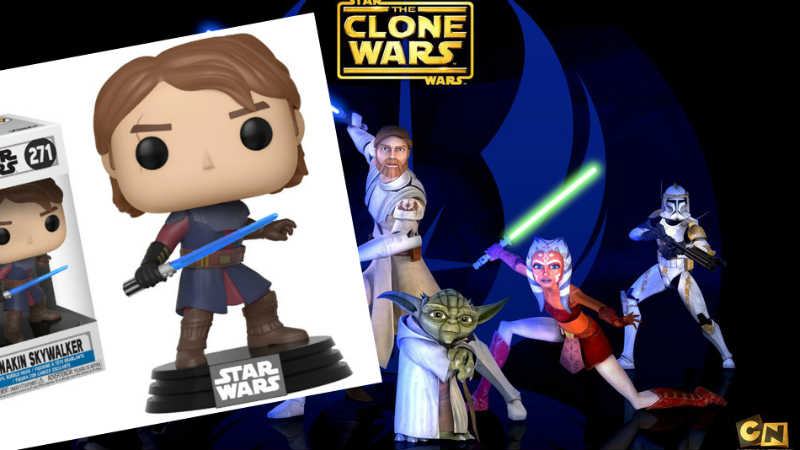 star wars the clone wars funko pop
