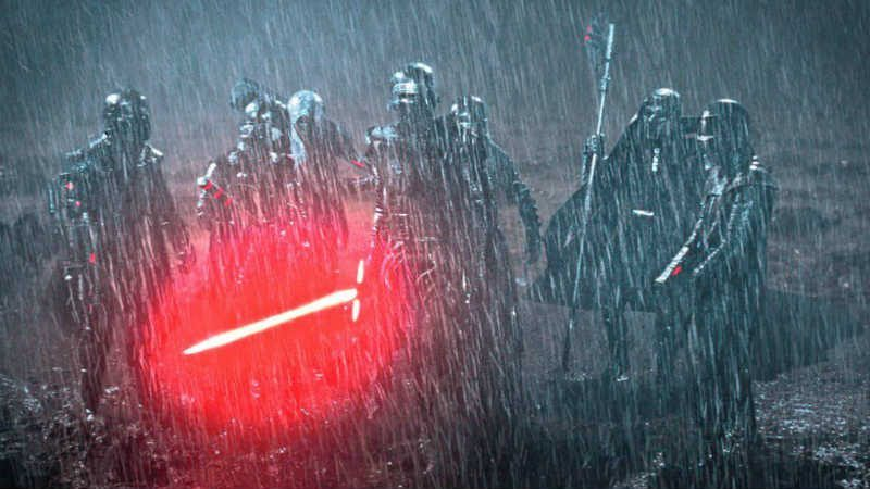 Star Wars visione cavalieri di ren