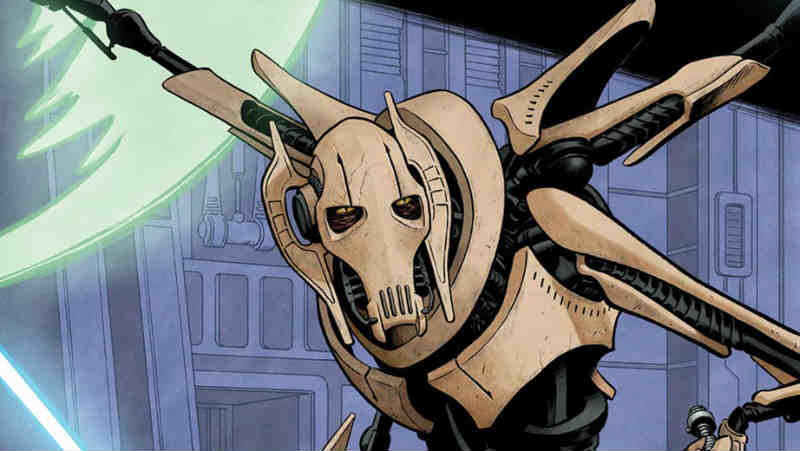 STAR WARS AGE OF REPUBLIC GENERAL GRIEVOUS 1 Marvel Comics fumetto Panini