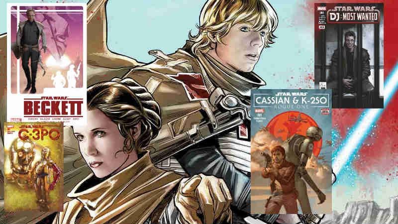 Star Wars La storia segreta volume panini comics one shot