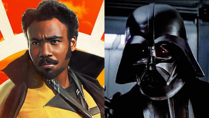 Star Wars Re Leone Lando Darth Vader