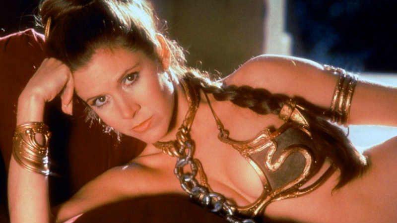 Star Wars Leia Schiava Costume foto