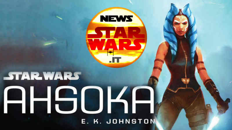 ahsoka romanzo book mondadori libro e k johnston tano star wars