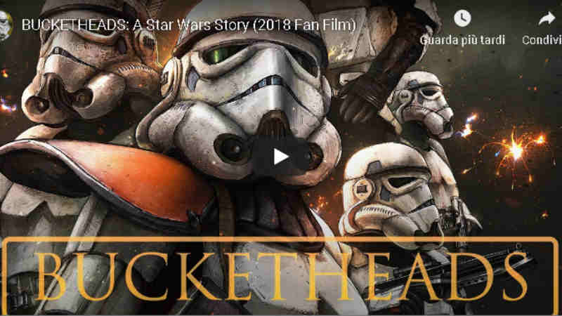 bucketheads a star wars story fan film video youtube