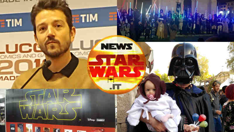 esperienza star wars lucca comics games 2018 cosplay foto