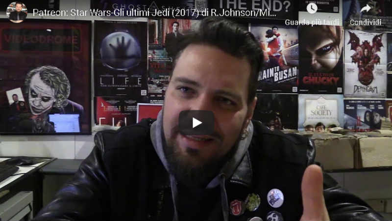 Federico Frusciante: recensione spiazzante su Star Wars Gli Ultimi Jedi