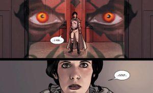 leia star wars darth maul impero a pezzi fumetto marvel panini comics volume