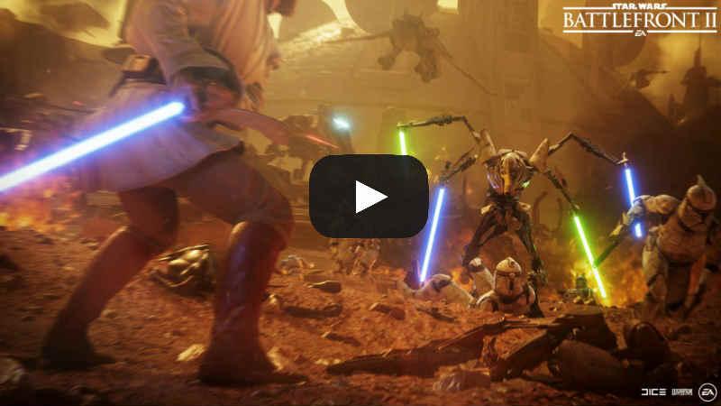 Battlefront II: interrompono il match per ammirare Kenobi vs Grievous – VIDEO