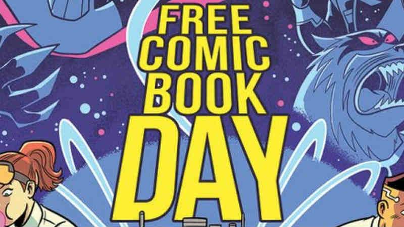 Star Wars sulla maglietta ufficiale del Free Comic Book Day 2019