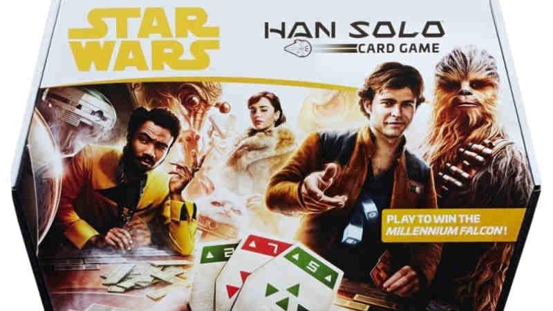 star wars han solo card game gioco di carte istruzioni regole regolamento hasbro sabacc